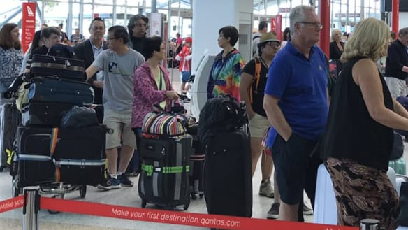 'Water leak' causes power outage, delays at Qantas Domestic Terminal