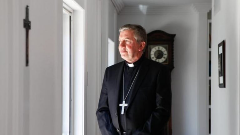 The Catholic archbishop of Canberra and Goulburn Christopher Prowse.