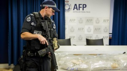 1kg of drugs seized every 17½ minutes in Australia, data reveals