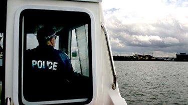 Water Police, Volunteer Marine Rescue boats and the Rescue 500 helicopter searched and quickly found the man.