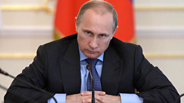 Precision planning: Vladimir Putin's stimulus involves some unusual measures, set out in detail in his plan.