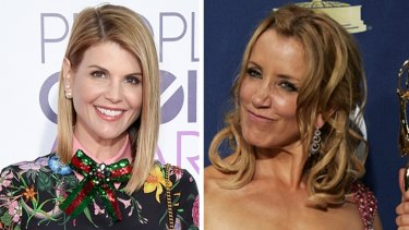 Lori Loughlin and Felicity Huffman were charged with paying bribes to get their daughters into elite colleges.
