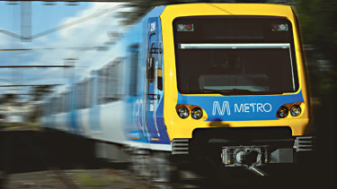 Metro Trains recorded a punctuality rate of 90.8 per cent last month.