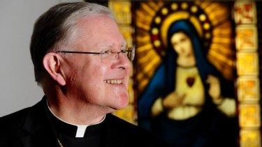 Brisbane Archbishop Mark Coleridge, head of the Australian Catholic Bishops Conference.