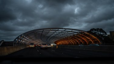 A gloomy start to Friday for Melbourne commuters.