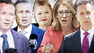 Mark McGowan made himself Treasurer, Roger Cook, Sue Ellery and Rita Saffioti kept their portfolios while Paul Papalia is now Police Minister.