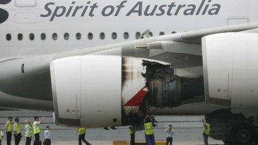 Alan Joyce compared the situation with the MAX to Qantas flight QF32, which suffered an engine explosion shortly after take off from Singapore in late 2010.