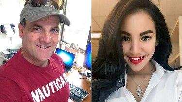 Perth Skyshow plane crash victims Peter Lynch and Endah Cakrawati.