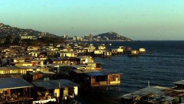 Port Moresby.