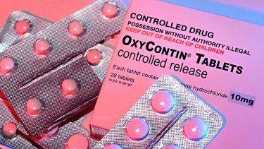 OxyContin is the powerful painkiller at the centre of the US opioid crisis.