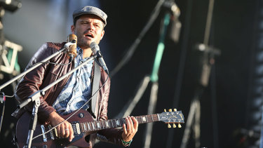 Ash Grunwald was going to record a live album at Bluesfest, which has been cancelled along with all his upcoming shows for the rest of the year.
