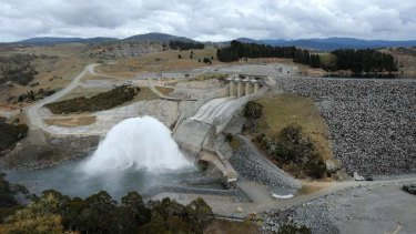 Pumped hydro storage will be used to back up the rise of new wind and solar generation.