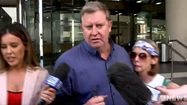 Paul Whyte faced court on Friday charged with corruption. He was released on bail on a $500,000 bond.