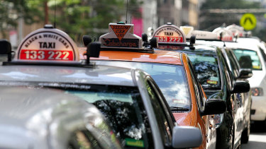 Queensland taxi drivers have struggled during the pandemic.