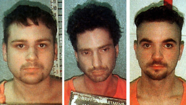 From left: John William King, Lawrence Russell Brewer (both of whom have been executed) and Shawn Allen Berry (who was sentenced to life in prison).
