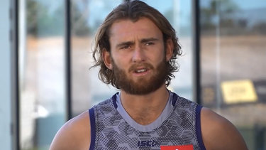 Docker Connor Blakely is set to resume with Fremantle after missing the start of the season through hamstring surgery.