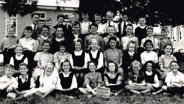 Students at Queanbeyan Public School. Several generations of Australians started and finished in local comprehensive state schools.