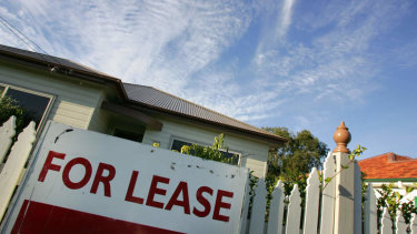 Just over a third of all Queensland households rent their homes.