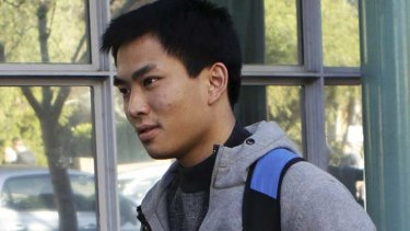 Yi Zhong, seen in a file picture, has been arrested in Sydney.