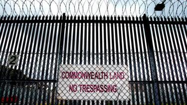 The Maribyrnong Immigration Detention Centre.