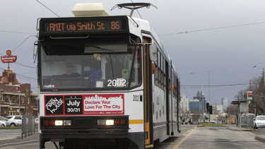 The route 86 tram has a notorious reputation.