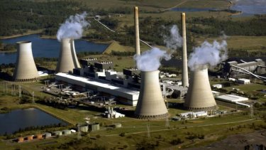 Regular emission updates in the winds: AGL's Bayswater black-coal-fired power station in the Hunter Valley.
