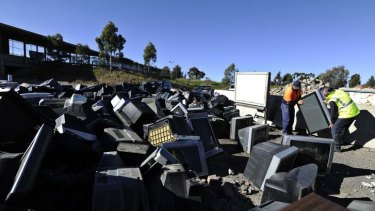 Techno trash: e-waste is the fastest growing waste in Australia.