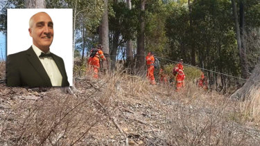 Judge Guy Andrew was found dead late on day five of the air, land and water search.