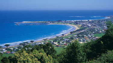 A sample showed up in Apollo Bay's wastewater, where nobody thought the virus was circling.