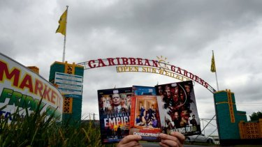 A 2013 report stated the market sold pirated DVDs.