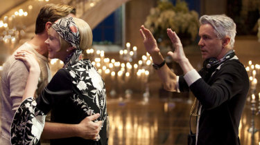 Baz Luhrmann directs Leonardo DiCaprio and Carey Mulligan in The Great Gatsby.