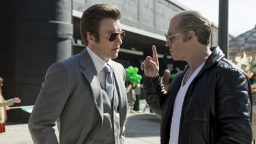 Joel Edgerton played the FBI agent corrupted by Johnny Depp's monstrous Whitey Bulger in the film Black Mass.