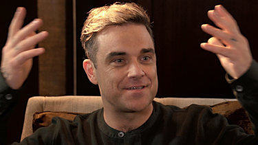 Robbie Williams was willing, but unable, to play on Saturday.