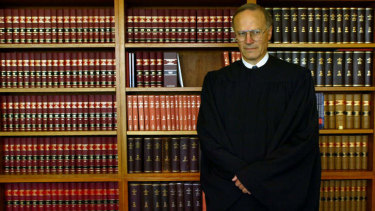 Justice Dyson Heydon when he was appointed to head the Royal Commission into union corruption.