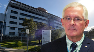 Dr Richard Ashby was the chief executive of eHealth Queensland until his resignation on Thursday January 31.