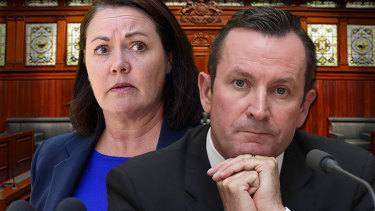 Opposition leader Liza Harvey has accused the Premier of hoarding cash.