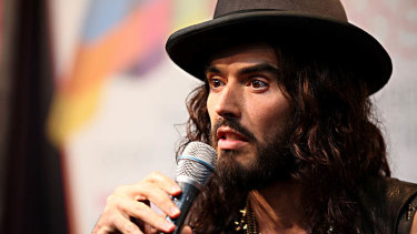 Perth Concert Hall a no go for Russell Brand.