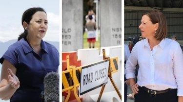 Neither Annastacia Palaszczuk nor Deb Frecklington can say when Queensland will reopen.