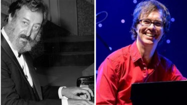 Geoff Harvey and Ben Folds ... the maestros made up.