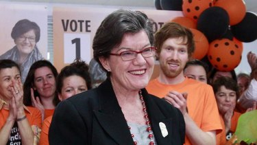 Former MP Cathy McGowan won the seat of Indi in 2013.