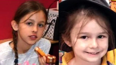 Mia (10) and Tiana (6)  Djurasovic were found dead in their family home in Perth's north by their father.