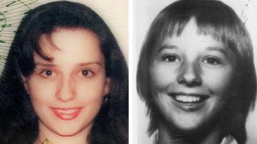Missing: Gordana Kotevski, left andAmanda Robinson.