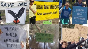 Perth frequently witnesses battles over bushland between developers and communities.