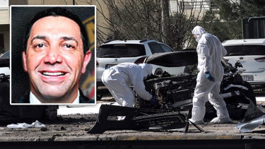 Amad 'Jay' Malkoun was injured when his car exploded in the upmarket suburb of Glyfada, Athens.