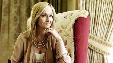 Harry Potter author J.K. Rowling.