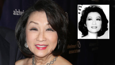 US television anchor Connie Chung in 2016 and, inset, in 1989.
