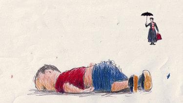 Illustration by Simon Bosch.