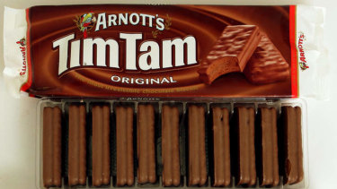 Tim Tams are made in the Sydney suburb of  Huntingwood.