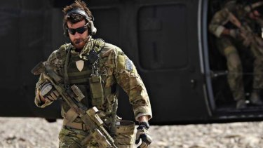 Corporal Benjamin Roberts-Smith with the Special Operations Task Group in Afghanistan.
