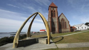 Stanley, the capital of the Falkland Island.